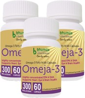 Bhumija Lifesciences Omega3 Fatty Acids (Omeja3) Capsules 60's(3 No)