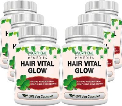 Morpheme Remedies Hair Vital Glow 500mg Extract