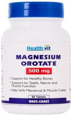 Healthvit Magnesium Orotate 500 mg
