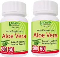 Bhumija Lifesciences Aloevera Capsules 60's(2 No)