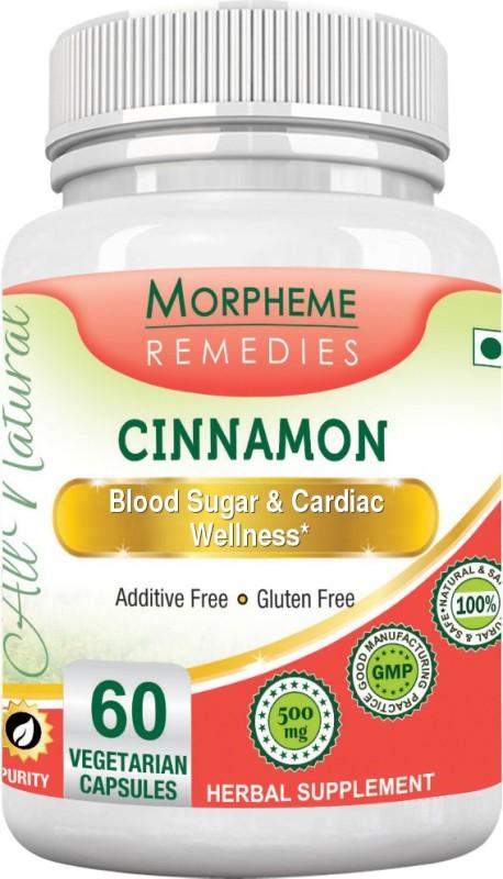 Morpheme Remedies Cinnamon 500 mg Multi Vitamin(60 No)