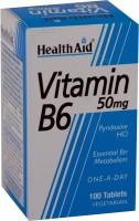 HealthAid Vitamin B6 (Pyridoxine HCl) 50 mg(100 No)