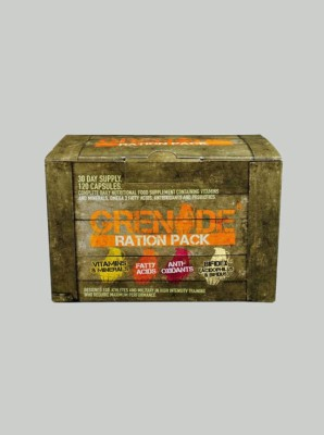 Grenade Ration Pack - 30 Days Supply