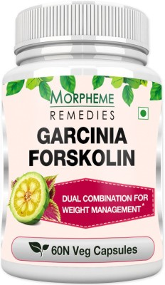 Morpheme Remedies Garcinia Forskolin Extract 500mg Extract(60 No)