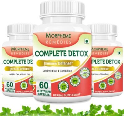Morpheme Remedies Complete Detox 500 mg (Pack of 3)