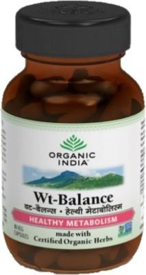 Organic India Wt-Balance - 60 Capsules(200 g)
