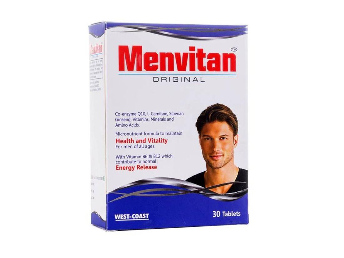 West Coast Menvitan ORIGINAL Multivitamin for Men