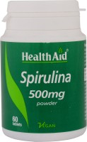 HealthAid Spirulina 500mg Special Supplements(60 No)