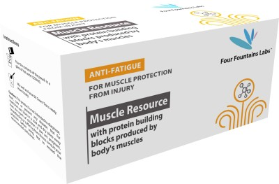Four Fountains Labs Muscle Resource - for reducing Fatigue by replenishing Protein to the Muscles (1 Month Supply)