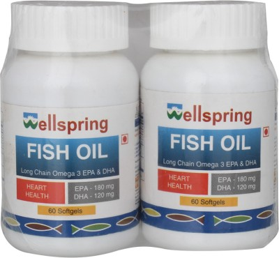 Wellspring Fish Oil (Pack of 2)