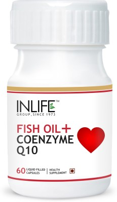 Inlife Fish Oil + Coenzyme Q10 for Cardio & Sexual Health
