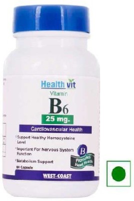 Healthvit B6 (25 mg)