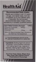 HealthAid Chromium Picolinate Special Supplements(60 No)