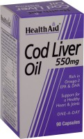 HealthAid Cod Liver Oil 550 mg(90 No)