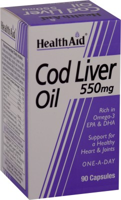HealthAid Cod Liver Oil 550 mg