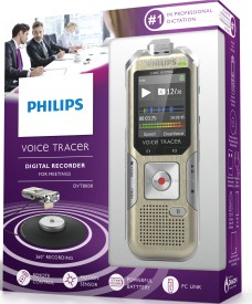 Philips Dvt8000 4 GB Voice Recorder