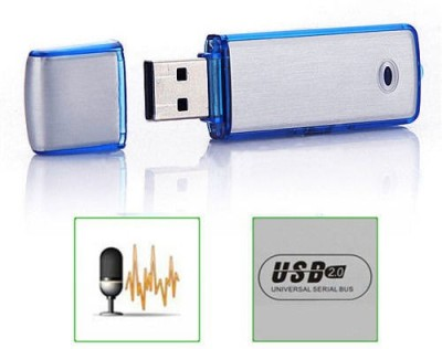 "Wonder World Clearsoundâ""¢ USB 2.0 Rechargeable Flash Drive In-Built 4 GB Voice Recorder"