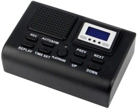 GurujiMart 0008 Telephone Voice Recorder 256 MB Voice Recorder