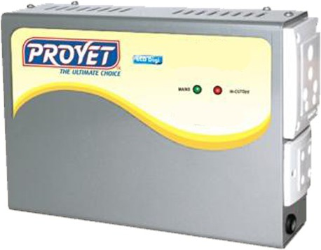View Proyet LCD Digi Voltage Stabilizer(Grey) Home Appliances Price Online(Proyet)