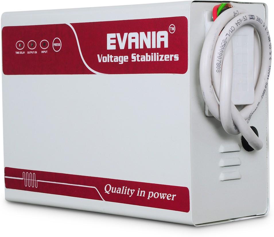 View EVANIA STAR 4KVA Voltage Stabilizers(MAROON, WHITE) Home Appliances Price Online(EVANIA)