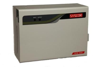 Syscom SDB-400 Voltage Stabilizer(Half White)