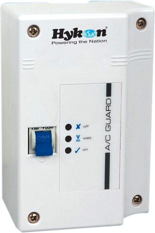 View HYKON AC Guard Voltage Stabilizer(White) Home Appliances Price Online(Hykon)