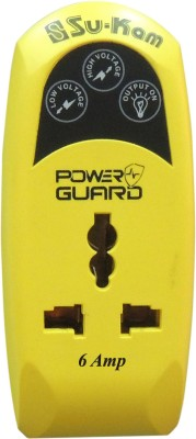 Su-Kam Power Guard 6 Amp Voltage Stabilizer(Yellow)
