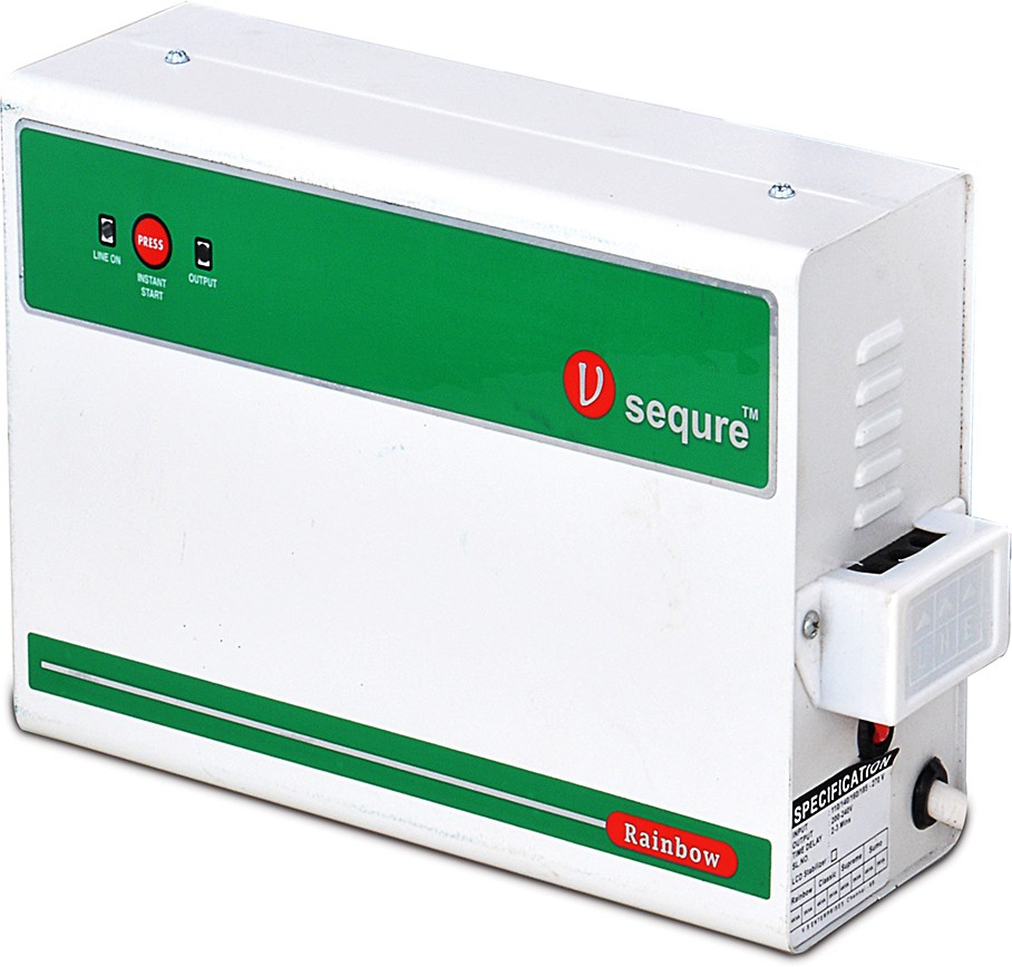 View v-sequre MCVS4KV-RB17 Voltage Stabilizer(White, Green) Home Appliances Price Online(v-sequre)