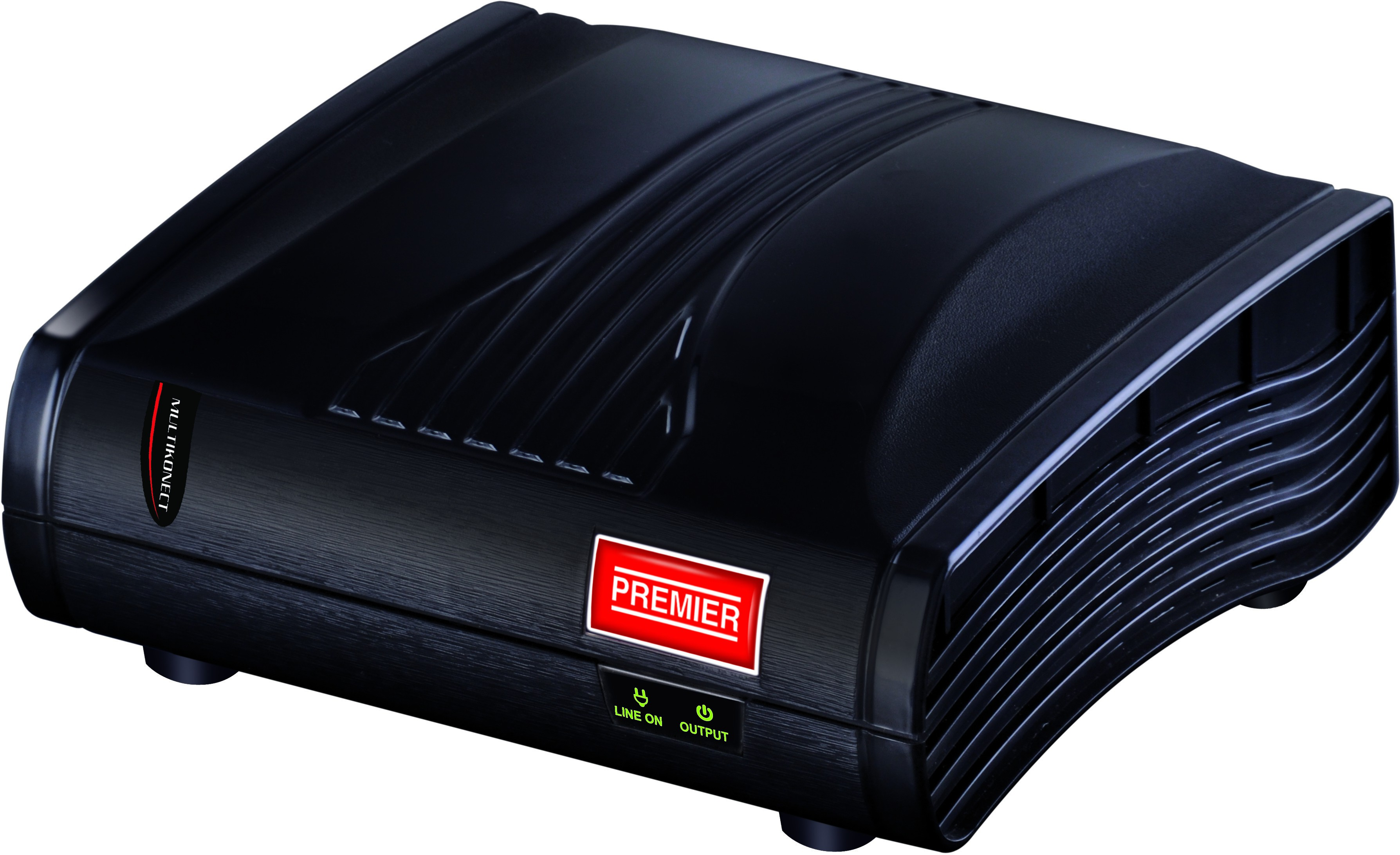 View Premier 1 Kva Multikonect Voltage Stabilizer(Black) Home Appliances Price Online(Premier)