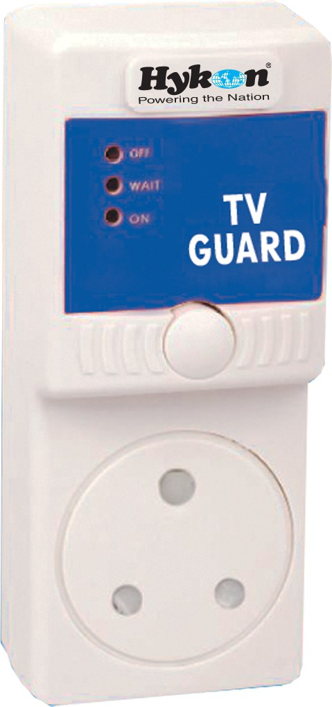 View Hykon TV Guard Voltage Stabilizer(White) Home Appliances Price Online(Hykon)