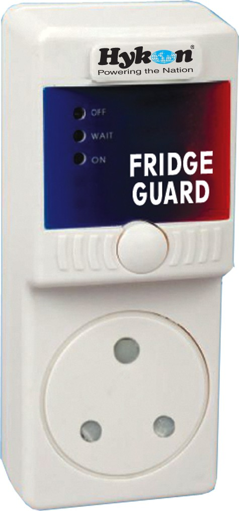View HYKON Fridge Guard Voltage Stabilizer(White) Home Appliances Price Online(Hykon)