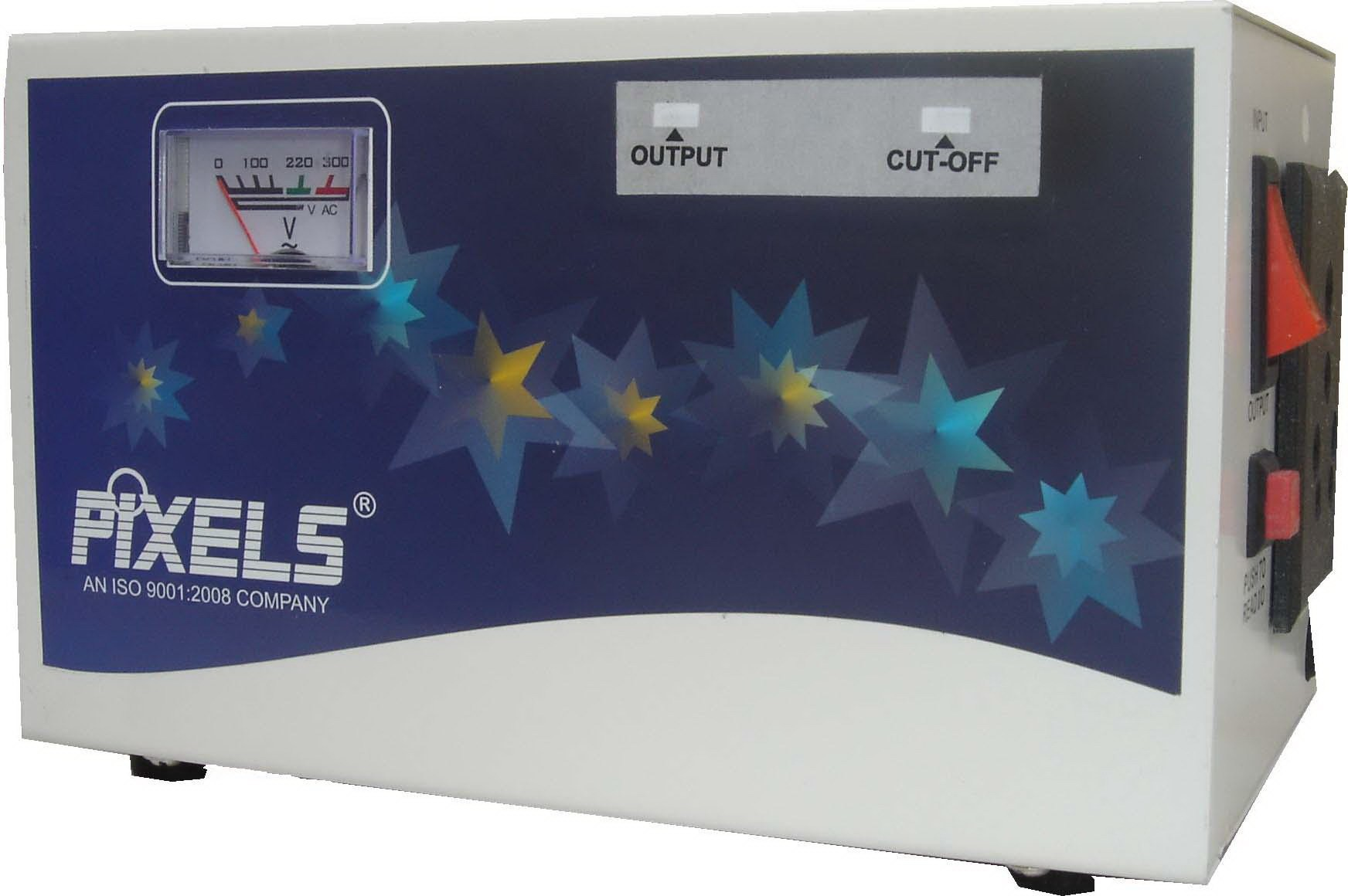 View pixels FMC105 Voltage Stabilizer(White, Blue) Home Appliances Price Online(pixels)