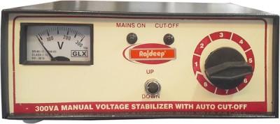Rajdeep Manual Autocut140v 200 watts voltage stabilizer