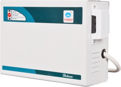 Everest EW 300 Regular DELUX Voltage Stabilizer(White)