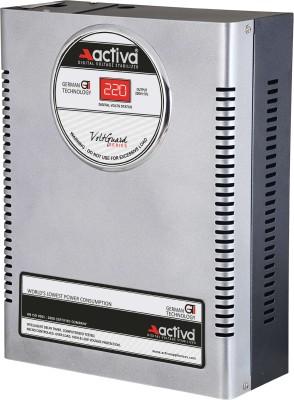 ACTIVA ( 4 KVA /140-300 VOLTS SILVER-BLACK ) DIGITAL AC VOLTAGE STABILIZER
