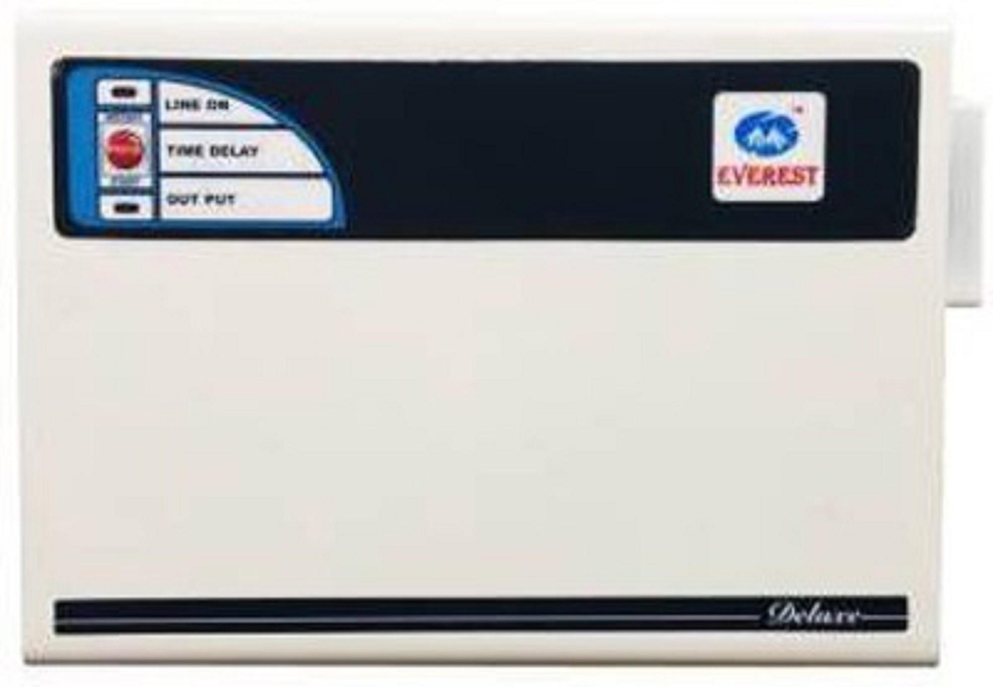 View Everest EW 300 Voltage Stabilizers(White)  Price Online