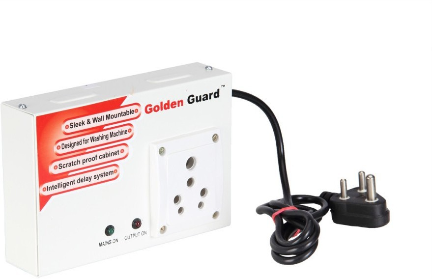 View Golden Guard GGWMP Voltage Protector(White/Red) Home Appliances Price Online(Golden Guard)