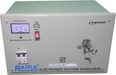 RAHUL A-ZONE DLX A7 Auto Matic Stabilizer(LG GRAY)