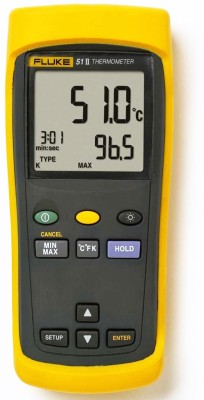 Fluke 51-2 Single Input Digital Digital Voltage Tester