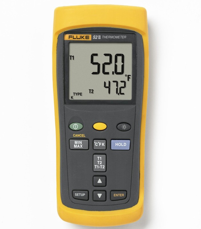 Fluke 52-2 60HZ Dual Input Digital Digital Voltage Tester