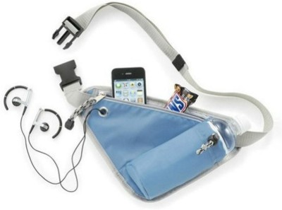 Shopo Portable Sports Storage for Mobile and Bottle Holder