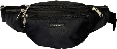 Aoking Black Travel Waist Pouch