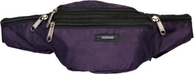 Aoking Purple Travel Waist Pouch