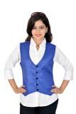 Jazzy Ben Solid Women's Waistcoat
