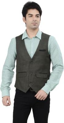 London Bridge Clothing Company Gilet Solid Men's Waistcoat