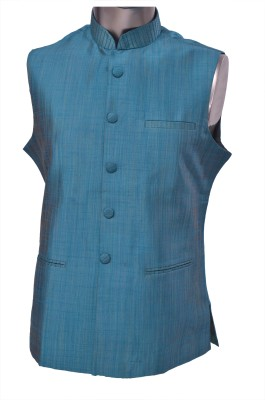 Manyavar Classic Solid Men's Waistcoat