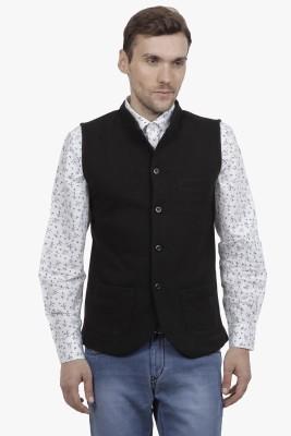 Hypernation Solid Men's Waistcoat