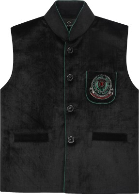 Civvies Embroidered Boy's Waistcoat