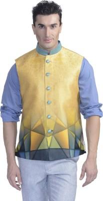 Luxurazi Printed Men,s Waistcoat