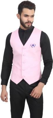 ManQ Solid Men's Waistcoat